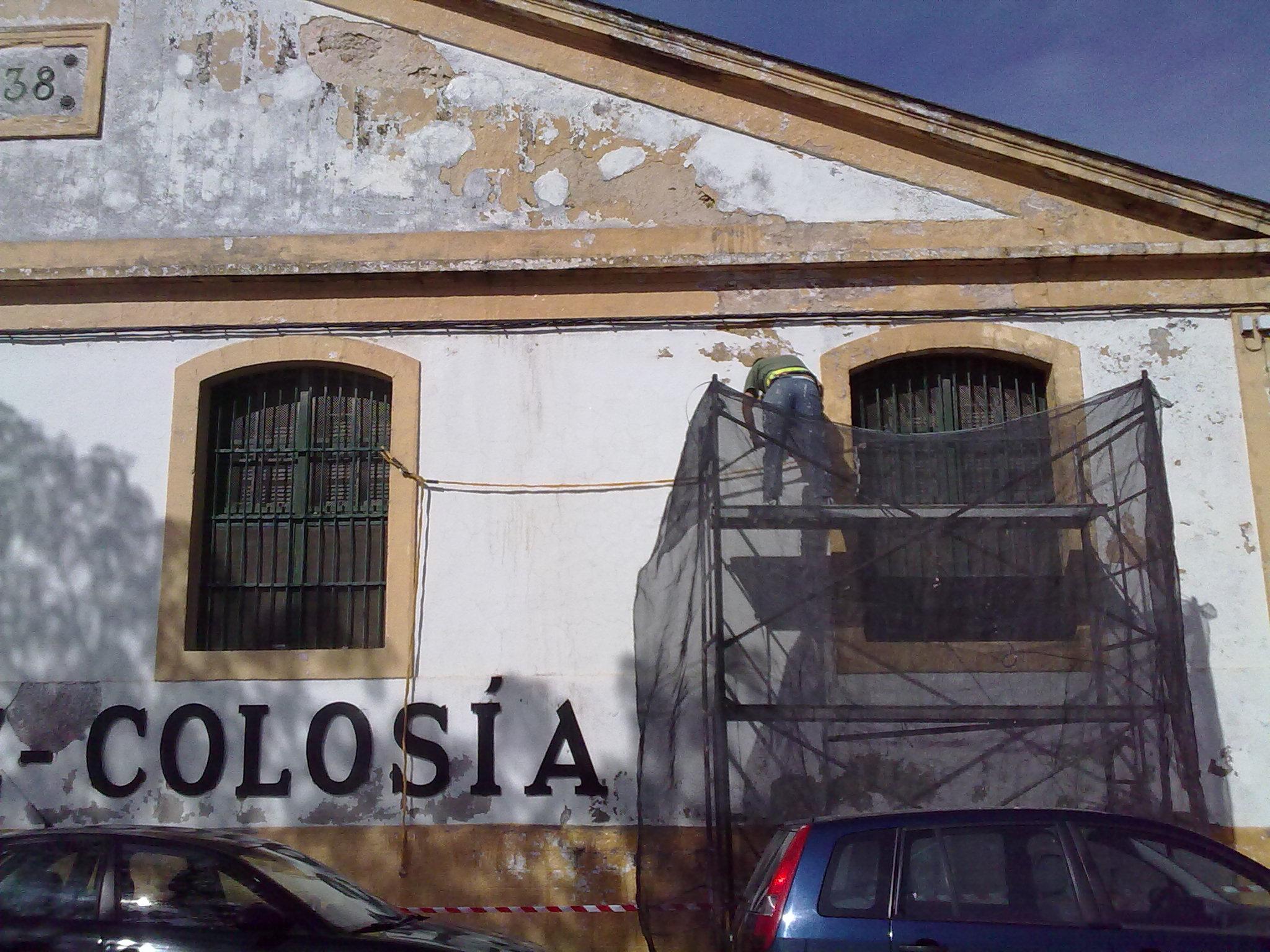 Reparación y pintado de fachadad